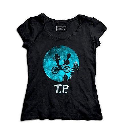 Camiseta Feminina T.P O Extraterrestre - Loja Nerd e Geek - Presentes Criativos