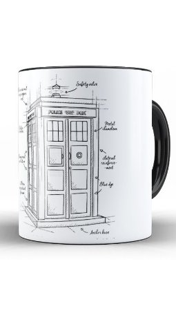Caneca Geekz Doctor Who - Loja Nerd e Geek - Presentes Criativos