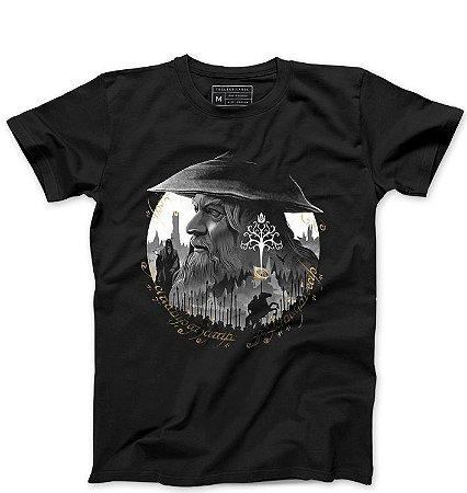 Camiseta Masculina Senhor do Anéis - Loja Nerd e Geek - Presentes Criativos