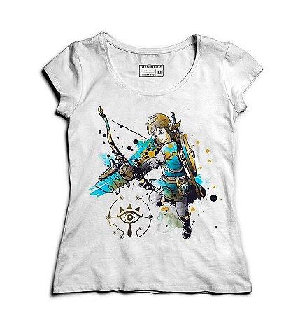 Camiseta Feminina The Legend of Elf - Loja Nerd e Geek - Presentes Criativos