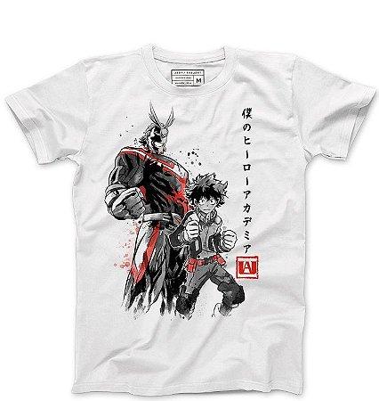 Camiseta Masculina Boku no Hero Academia - Loja Nerd e Geek - Presentes Criativos