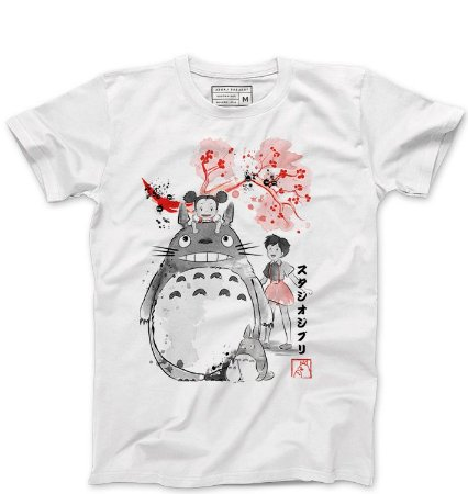 Camiseta Masculina Meu amigo Totoro - Loja Nerd e Geek - Presentes Criativos