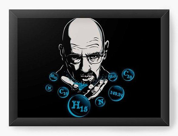Quadro Decorativo A4 (33X24) Geekz Breaking Bad - Loja Nerd e Geek - Presentes Criativos