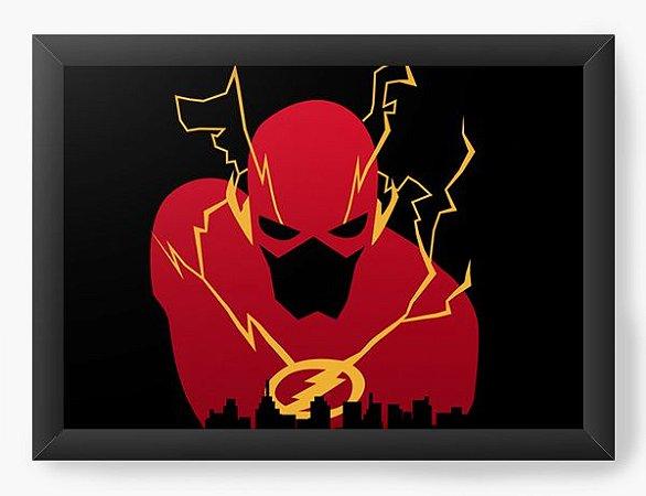 Quadro Decorativo A4 (33X24) Geekz Flash - Loja Nerd e Geek - Presentes Criativos