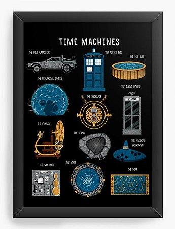 Quadro Decorativo A4 (33X24) Geekz Doctor Who - Loja Nerd e Geek - Presentes Criativos