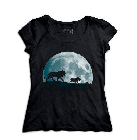 Camiseta Feminina Rei Leão - Hakuna Matata - Loja Nerd e Geek - Presentes Criativos