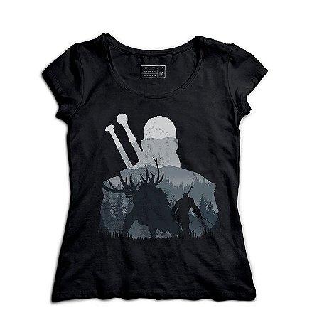 Camiseta Feminina The Witcher - Loja Nerd e Geek - Presentes Criativos
