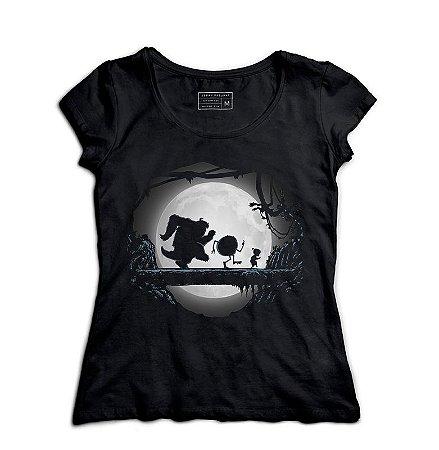 Camiseta Feminina Monstros SA - Hakuna Matata - Loja Nerd e Geek - Presentes Criativos