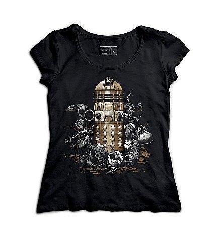 Camiseta Feminina Doctor Who - Loja Nerd e Geek - Presentes Criativos