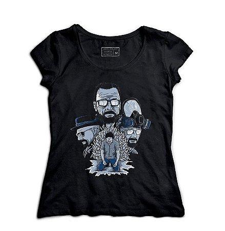 Camiseta Feminina Breaking Bad - Loja Nerd e Geek - Presentes Criativos