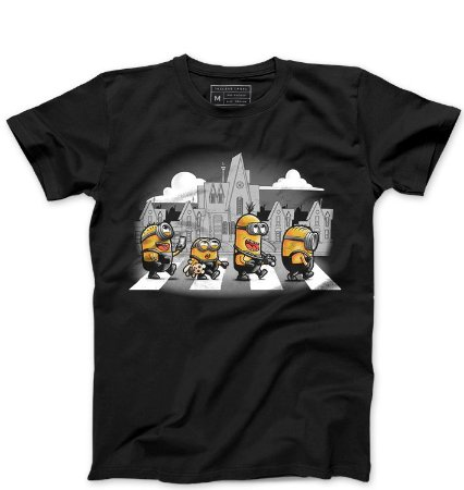 Camiseta Masculina The Minions - Loja Nerd e Geek - Presentes Criativos