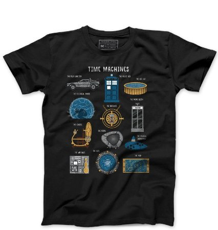 Camiseta Masculina Doctor Who - Serie - Loja Nerd e Geek - Presentes Criativos