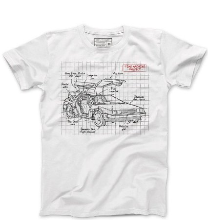Camiseta Masculina De volta para o Futuro - Loja Nerd e Geek - Presentes Criativos