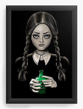 Quadro Decorativo A4 (33X24) Geekz A Família Addams - Loja Nerd e Geek - Presentes Criativos