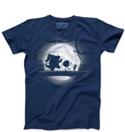 Camiseta Masculina Monstros SA - Hakuna Matata - Loja Nerd e Geek - Presentes Criativos