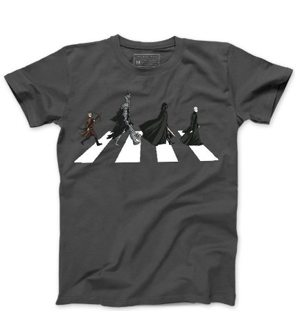 Camiseta Masculina The Dark Road - Loja Nerd e Geek - Presentes Criativos
