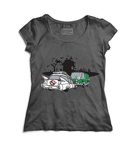 Camiseta Feminina Fantasma - Loja Nerd e Geek - Presentes Criativos