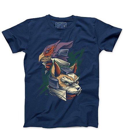 Camiseta Masculina Star Fox - Loja Nerd e Geek - Presentes Criativos