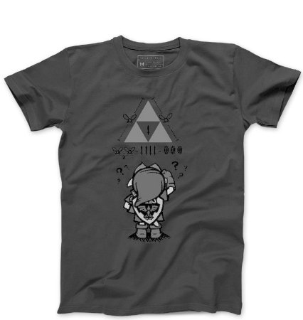 Camiseta Masculina Triforce - Loja Nerd e Geek - Presentes Criativos