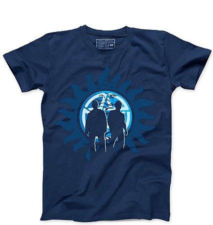 Camiseta Masculina Supernatual - Loja Nerd e Geek - Presentes Criativos