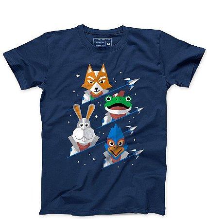 Camiseta Masculina Defensores  - Loja Nerd e Geek - Presentes Criativos