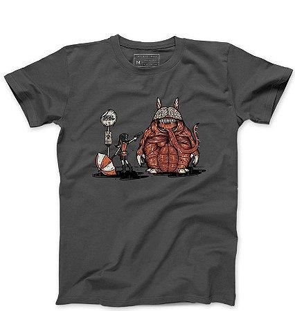 Camiseta Masculina R-Evil Totoro  - Loja Nerd e Geek - Presentes Criativos