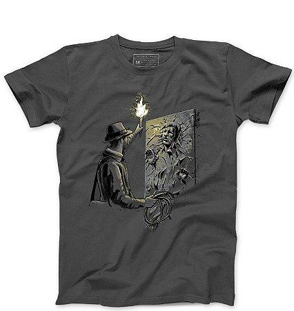 Camiseta Masculina ArqueÓlogo - Loja Nerd e Geek - Presentes Criativos