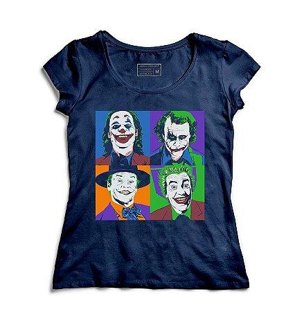 Camiseta Feminina Coringa - Loja Nerd e Geek - Presentes Criativos