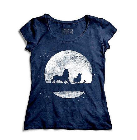 Camiseta Feminina The King - Loja Nerd e Geek - Presentes Criativos
