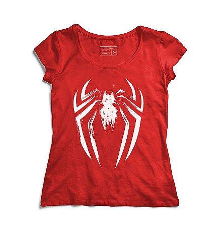 Camiseta Feminina Red Man - Loja Nerd e Geek - Presentes Criativos