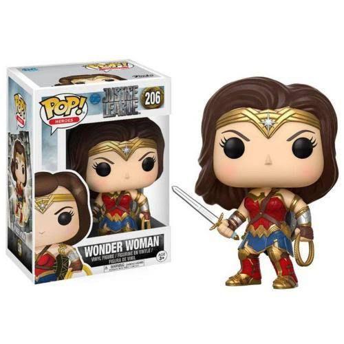 Funko Pop Dc Justice League - Wonder Woman 206 - Mulher Maravilha