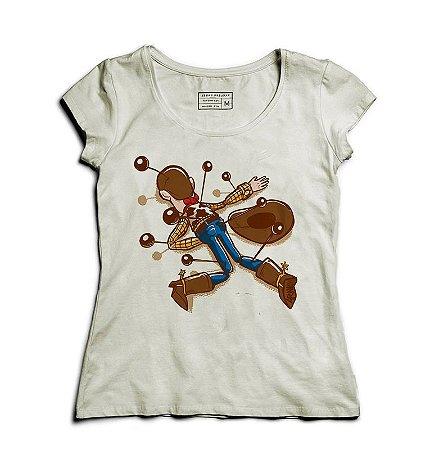 Camiseta Feminina Cowboy de Brinquedo  - Loja Nerd e Geek - Presentes Criativos