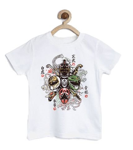 Camiseta Infantil Powerful Colors- Loja Nerd e Geek - Presentes Criativos