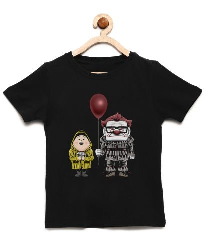 Camiseta Infantil UP Terror as Altura - Loja Nerd e Geek - Presentes Criativos