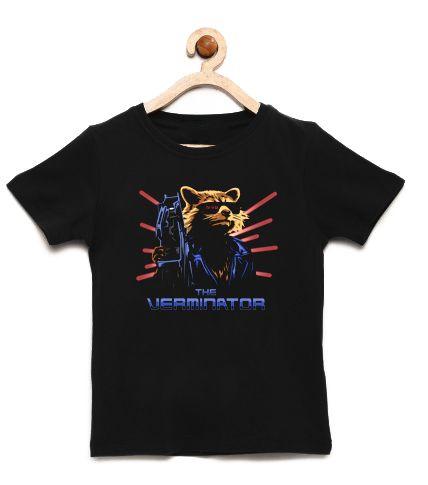 Camiseta Infantil O Exterminador - Loja Nerd e Geek - Presentes Criativos