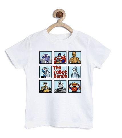 Camiseta Infantil The Robot  - Loja Nerd e Geek - Presentes Criativos