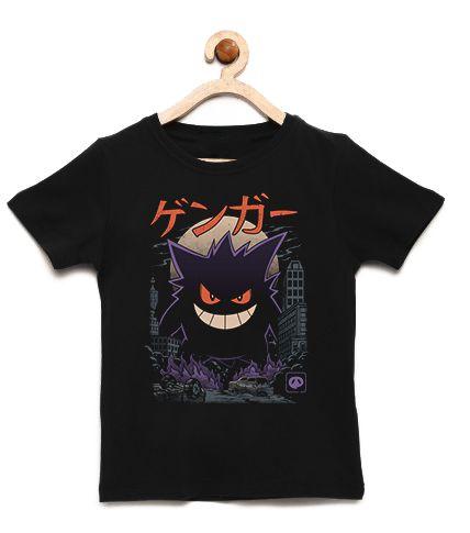 Camiseta Infantil Monstrinho - Loja Nerd e Geek - Presentes Criativos