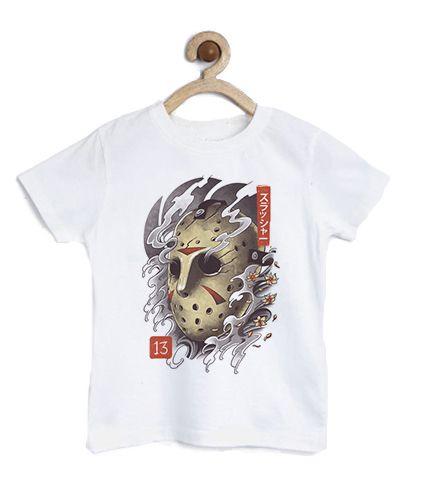 Camiseta Infantil Sexta Feira 13 - Loja Nerd e Geek - Presentes Criativos