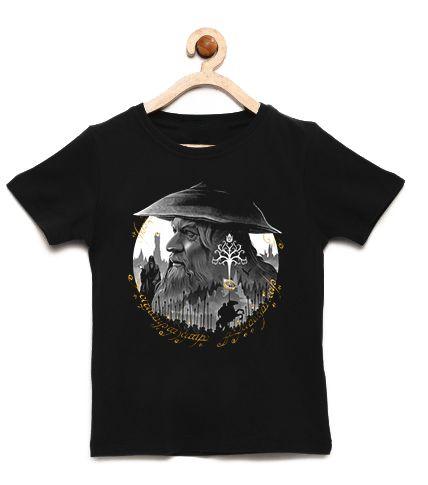 Camiseta Infantil o Cinzento - Loja Nerd e Geek - Presentes Criativos