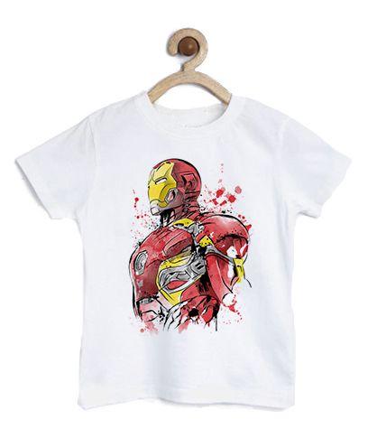 Camiseta Infantil Homem de Lata - Loja Nerd e Geek - Presentes Criativos