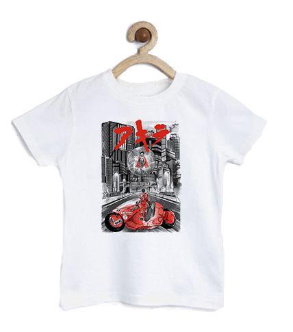 Camiseta Infantil Thunder World - Loja Nerd e Geek - Presentes Criativos