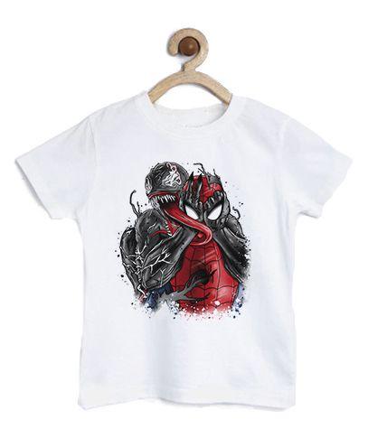 Camiseta Infantil Homem Teia - Loja Nerd e Geek - Presentes Criativos