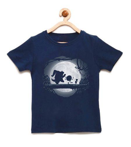 Camiseta Infantil Monstros Hakuna Matata - Loja Nerd e Geek - Presentes Criativos