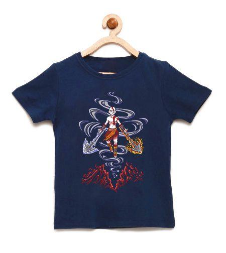 Camiseta Infantil Powerful Boy - Loja Nerd e Geek - Presentes Criativos