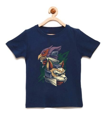 Camiseta Infantil Fox - Loja Nerd e Geek - Presentes Criativos