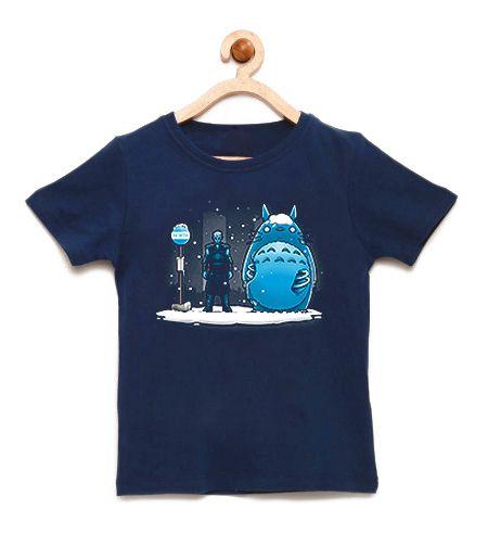 Camiseta Infantil North - Loja Nerd e Geek - Presentes Criativos