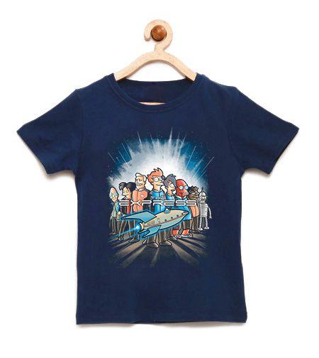 Camiseta Infantil O Expresso - Loja Nerd e Geek - Presentes Criativos