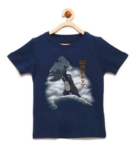 Camiseta Infantil Strong Monkeyr - Loja Nerd e Geek - Presentes Criativos
