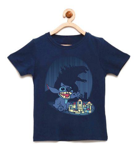 Camiseta Infantil Poderoso Monstro - Loja Nerd e Geek - Presentes Criativos