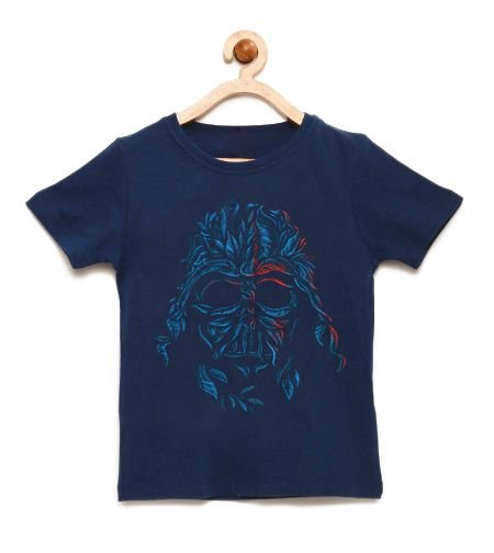 Camiseta Infantil Dark Space - Loja Nerd e Geek - Presentes Criativos